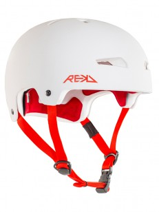REKD helma ELITE White/Red