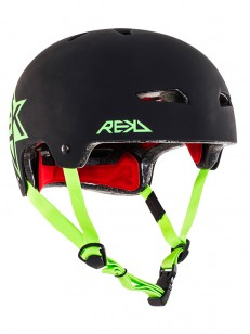 REKD helma ELITE ICON Black/Green