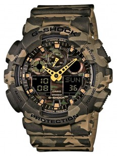 CASIO hodinky GA-100CM-5AER
