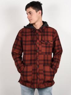 BILLABONG košile FURNACE BONDED RED