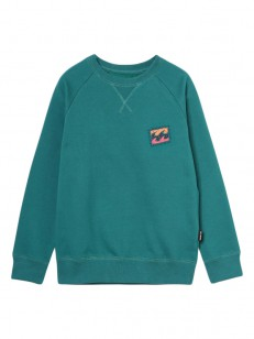 BILLABONG mikina ICONIC EMERALD