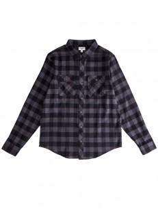 BILLABONG košela ALL DAY FLANNEL BLACK