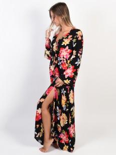 BILLABONG šaty DESI KIMONO BLACK