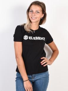 ELEMENT triko ELEMENT LOGO BLACK