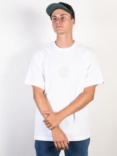 ELEMENT triko DOTTED OPTIC WHITE