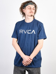 RVCA triko BLINDED SEATTLE BLUE