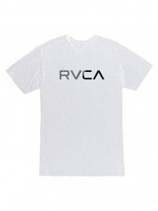 RVCA tričko BLINDED WHITE