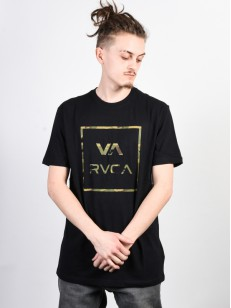 RVCA triko FILL ALL THE WAY BLACK