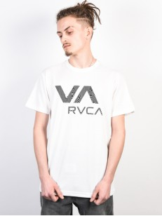 RVCA triko VA RVCA ANTIQUE WHITE