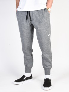 RVCA tepláky SIDELINE HEATHER GREY