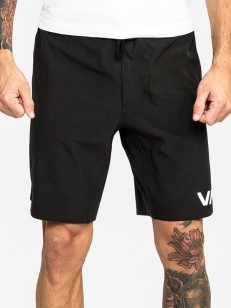 RVCA kraťasy TRAIN SHORT 19IN W L BLACK