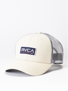 RVCA kšiltovka TICKET TRUCKER II CREAM