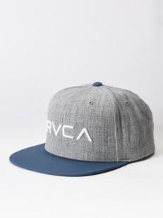 RVCA kšiltovka TWILL III GREY BLUE
