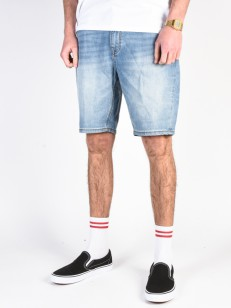 BILLABONG kraťasy OUTSIDER DENIM INDIGO BLEACH