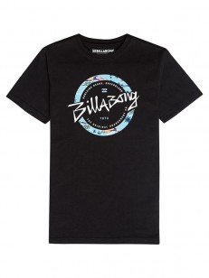 BILLABONG triko EIGHTY BLACK