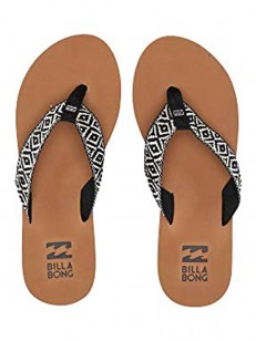 BILLABONG žabky BAJA BLACK/CREAM