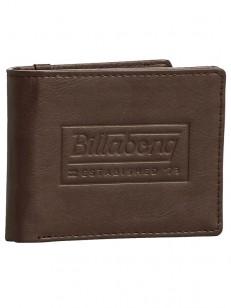 BILLABONG peněženka WALLED CHOCOLATE