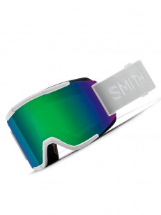 SMITH brýle SQUAD White Vapor | Green Solx Sp Af