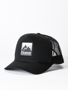 ELEMENT kšiltovka PEAK TRUCKER OFF BLACK
