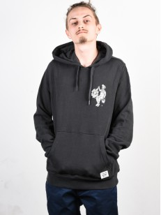 ELEMENT mikina CREW OFF BLACK