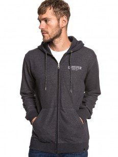 QUIKSILVER mikina X COMP ELITE DARK GREY HEATHER