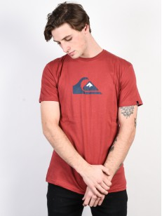 QUIKSILVER triko M AND W BRICK RED