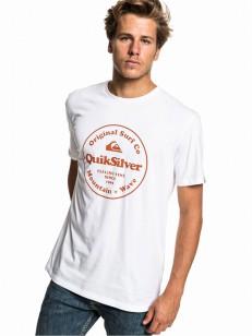 QUIKSILVER triko SECRET INGREDIENT WHITE