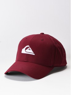 QUIKSILVER kšiltovka DECADES BRICK RED