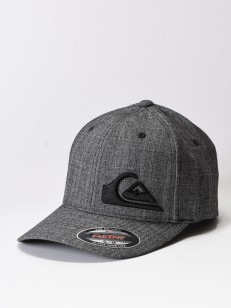 QUIKSILVER kšiltovka FINAL CHARCOAL HEATHER