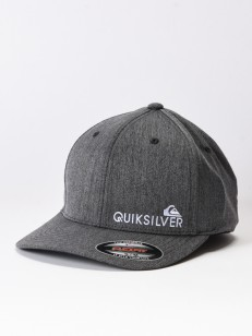 QUIKSILVER kšiltovka SIDESTAY BLACK HEATHER