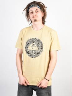QUIKSILVER tričko QUIK CIRCLED WARM SAND