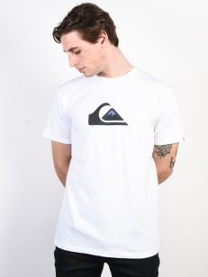QUIKSILVER triko M AND W WHITE