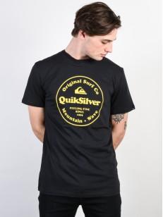 QUIKSILVER triko SECRET INGREDIENT BLACK
