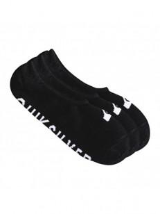 QUIKSILVER ponožky LINER 3PACK BLACK