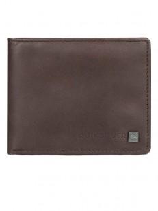 QUIKSILVER peněženka CURVECUTTER CHOCOLATE BROWN