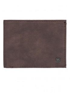 QUIKSILVER peněženka SCORPIONFISH CHOCOLATE BROWN
