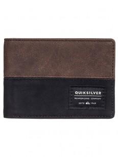 QUIKSILVER peněženka NATIVECOUNTRY CHOCOLATE BROWN