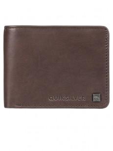 QUIKSILVER peněženka MACK VIII CHOCOLATE BROWN
