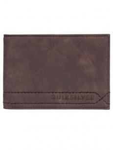 QUIKSILVER peněženka STITCHY CHOCOLATE BROWN