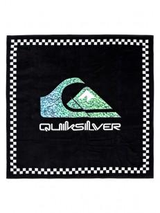 QUIKSILVER pončo TOWEL BLACK