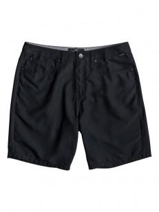 QUIKSILVER koupací šortky NELSON SURFWASH BLACK
