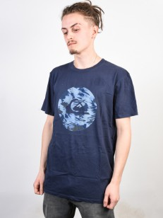 QUIKSILVER triko QUIK CIRCLED BLUE NIGHTS