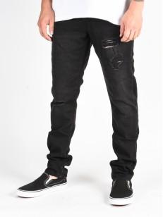 QUIKSILVER kalhoty DISTORSION STRANGER BLACK