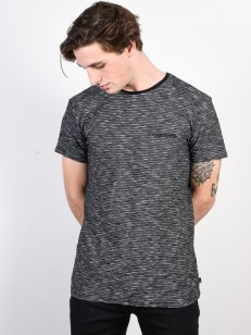 QUIKSILVER tričko KEN TIN BLACK KENTIN