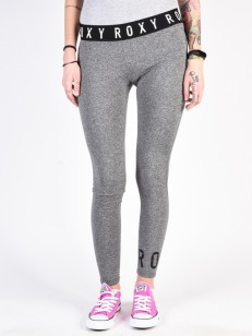 ROXY legíny TEARS IN RAIN CHARCOAL HEATHER