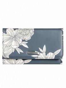 ROXY peněženka JUNO PRINTED TURBULENCE ROSE AND PE