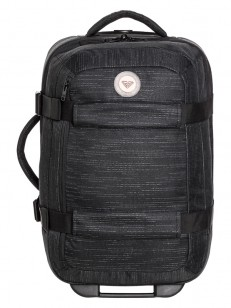 ROXY kufr WHEELIE 2 SOLID TRUE BLACK