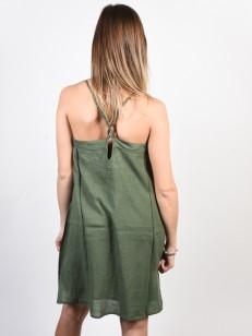 ROXY šaty OFF WE GO DUCK GREEN