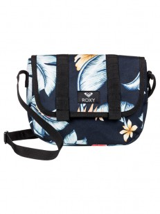 ROXY kabelka BACK ON YOU ANTHRACITE TROPICAL LOVE