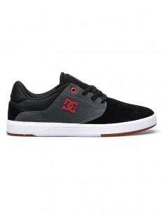 DC boty PLAZA TC S BLACK/DK GREY/ATHLETIC RED